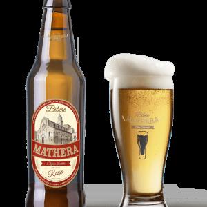 Birra artigianale Mathera Rossa