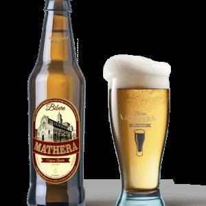Birra artigianale Mathera Bionda Confezione