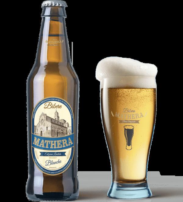 Birra artigianale Mathera Blanche