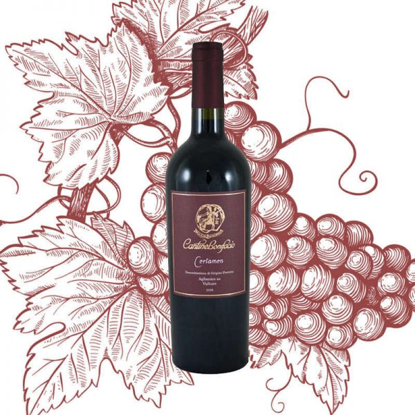 Vino rosso Certamen DOC Cantine Bonifacio